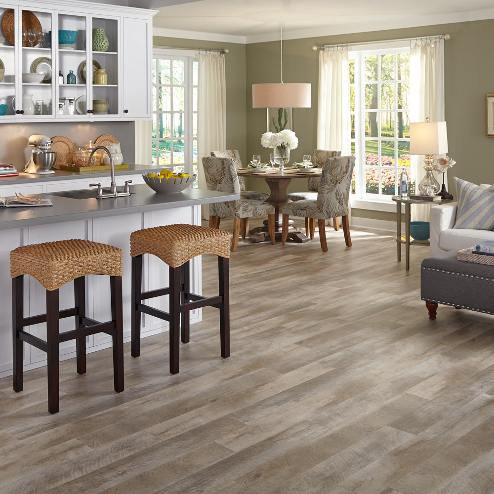 best flooring for your beach home - Dining Room Flooring Options